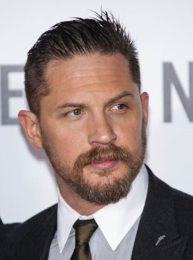 Tom Hardy arrives at ''The Revenant'' Los Angeles premiere Red carpet