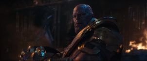 We get our first good look at Thanos' Armour